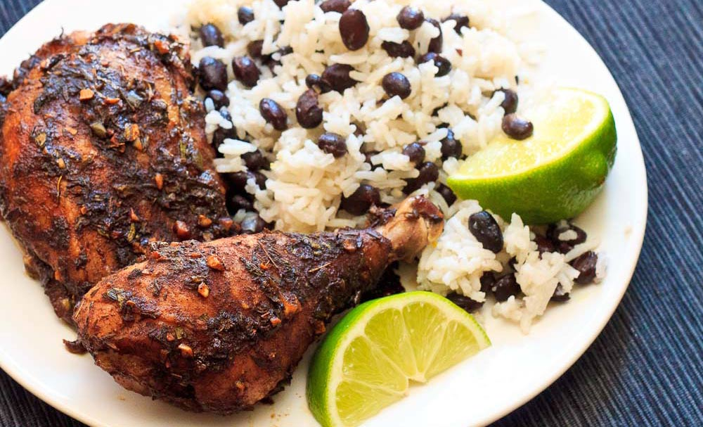 Jamaican Jerk Chicken Bowl - Williamsburg Farmers Market