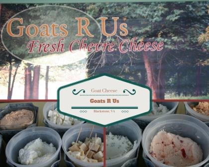 Goats R Us Cheese goat cheese | Williamsburg Farmers Market